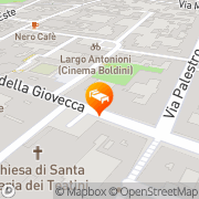 Map Europa Ferrara, Italy