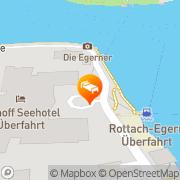 Karte Seehotel Überfahrt Tegernsee Rottach-Egern, Deutschland