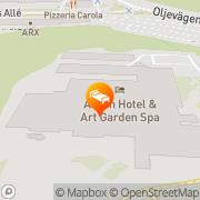 Karta Best Western Arken Hotell & Konferenscenter Göteborg, Sverige