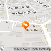 Map Hotel Henry Erdingi, Chad