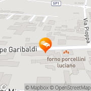 Map Albergo Airone Ostellato, Italy