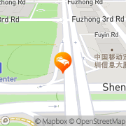 Map Futian Shangri-La Hotel Shenzhen Shenzhen, People's Republic of China