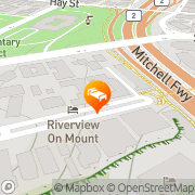 Map Mountway Holiday Apartments Perth, Australia