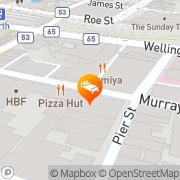 Map Miss Maud Swedish Hotel Perth, Australia