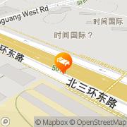 Map Radisson BLU Hotel Beijing Beijing, People's Republic of China