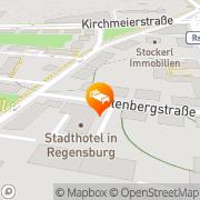 Karte Stadthotel Regensburg Regensburg, Deutschland