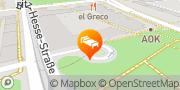Karte Radisson Blu Hotel Fürst Leopold, Dessau Dessau-Roßlau, Deutschland