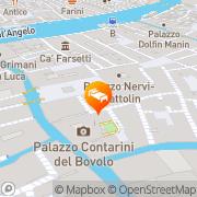 Map Ca Loredan Venice, Italy