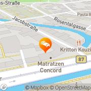 Karte Sleepy Lion Hostel + Apartments Leipzig, Deutschland
