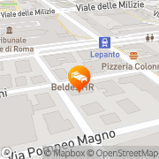 Map Beldes Rome, Italy