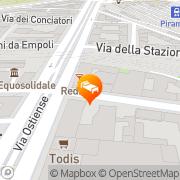 Map Abitart Rome, Italy