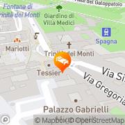 Map Residenza Domizia Smart Design Rome, Italy