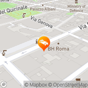 Map Hotel Giolli Rome, Italy