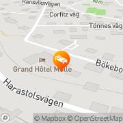 Karta Grand Hotel MÖLLE Mölle, Sverige