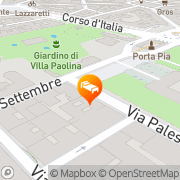 Map Deseo Home Rome, Italy