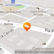 Map Hotel Moscatello Rome, Italy