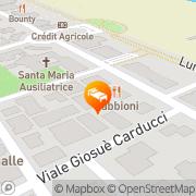 Map Hotel Vienna Ostenda Rimini, Italy