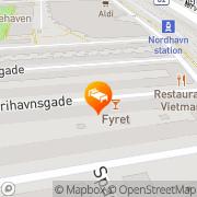 Kort Cafe Fyret København, Danmark