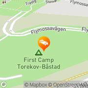 Karta First Camp Torekov Torekov, Sverige