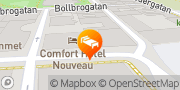 Karta Comfort Hotel Helsingborg Helsingborg, Sverige