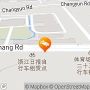 Map Braim Seasons Hotel Hangzhou, People's Republic of China