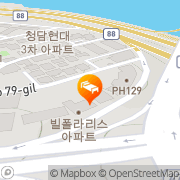 Map Hotel Blue Pearl Seoul, South Korea