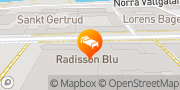 Karta Radisson Blu Hotel, Malmo Malmö, Sverige