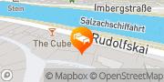 Karte Radisson Blu Hotel Altstadt Salzburg, Österreich