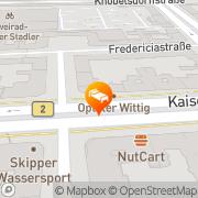 Karte Hotel Amelie Messe ICC Berlin, Deutschland