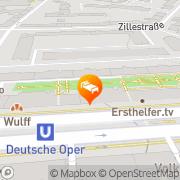 Karte HOTEL-APART Bismarckstrasse Berlin, Deutschland