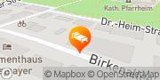 Karte Hotel & Kurklinik Mürz Bad Füssing, Deutschland