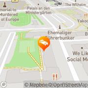 Karte Frauenhotel Intermezzo Berlin, Deutschland