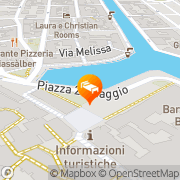 Map Hotel Alla città di Trieste Grado, Italy