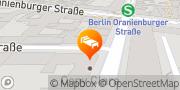 Map Heart of Gold Hostel Berlin, Germany