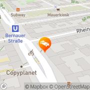 Karte Raja Jooseppi Resort Berlin, Deutschland