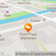 Karte Park Plaza Wallstreet Berlin Berlin, Deutschland