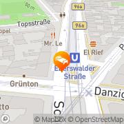 Karte Apartments city-room Berlin Berlin, Deutschland
