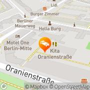 Karte Motel One Berlin-Mitte Berlin, Deutschland