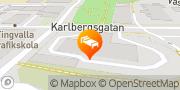 Karta Clarion Collection Hotel Bilan Karlstad, Sverige