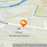 Karte Hotel Heidenschanze Dresden, Deutschland