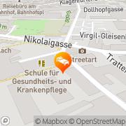 Karte Congress Hotel Villach Villach, Österreich
