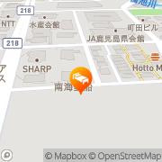 Map Kagoshima Tokyu Hotel Kagoshima, Japan