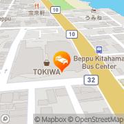 Map Hotel Arthur Beppu Beppu, Japan