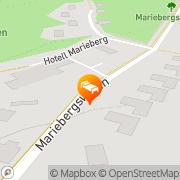 Karta Hotell Marieberg Kristinehamn, Sverige