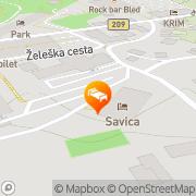 Map Hotel Savica - Sava Hotels & Resorts Bled, Slovenia