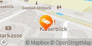 Karte SEETELHOTEL Ahlbecker Hof Seebad Ahlbeck, Deutschland