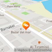 Map Hotel Regent Pescara, Italy