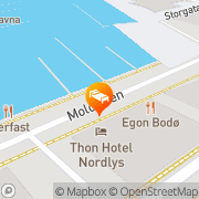 Map Thon Hotel Nordlys Bodø, Norway