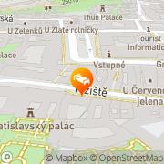 Map The Bishop's House Prague, Czech Republic