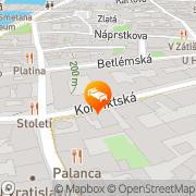 Map Cloister Inn Prague, Czech Republic